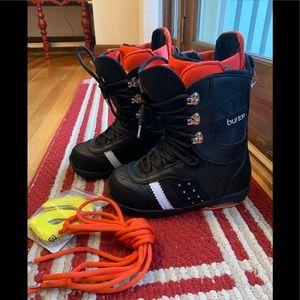Burton Black Red Sapphire Women's Snowboard Boots